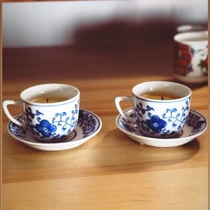 Set of Two Teacup Candles